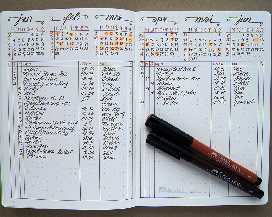 future log bullet journal