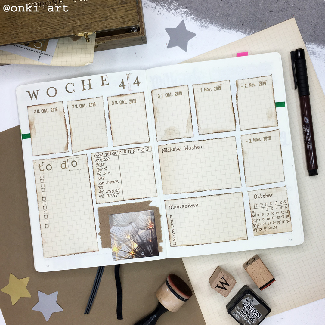 weeklyspread scrapbooking