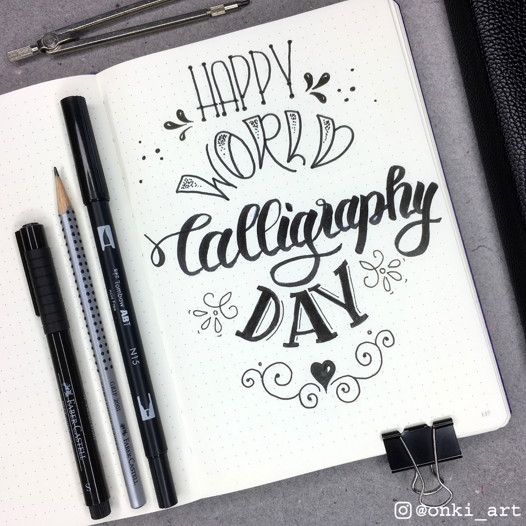 calligraphy day